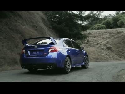 La nouvelle Subaru WRX STi en action
