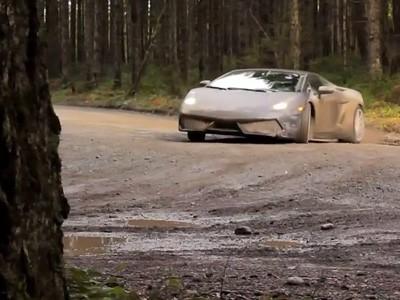 Du rallye en Lamborghini Gallardo