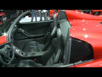 McLaren MP4-12C Spider - Mondial 2012