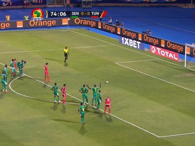 CAN 2019 / Sénégal - Tunisie : le pénalty manqué de Saivet