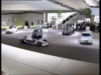 La nouvelle F1 BMW Belt