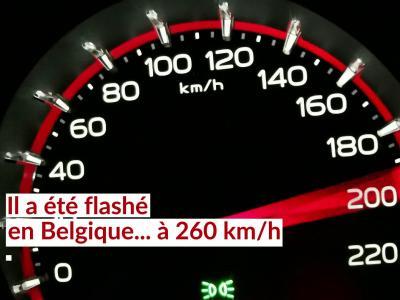 Excès de vitesse : un milliardaire flashé à 260 km/h
