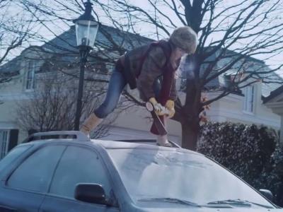 Un clip pour les 30 ans du pare-brise chauffant chez Ford