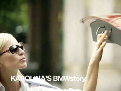 Le mannequin Karolina Kurkova adore sa BMW Série 2 Active Tourer