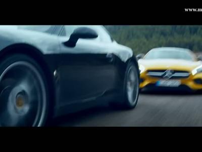 Mercedes-AMG GT: un cauchemar pour la Porsche 911?
