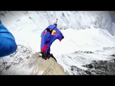 BASE Jump depuis l'Everest