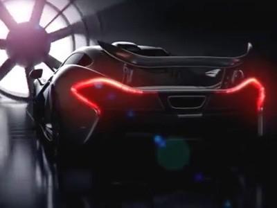 La McLaren P1 en soufflerie