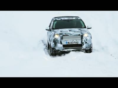 Land Rover optimise son Discovery Sport dans des conditions dantesques