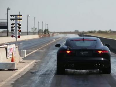 Quand Hennessey s'occupe de la Jaguar F-Type R