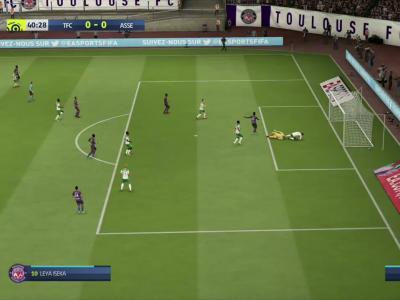 Toulouse FC - ASSE sur FIFA 20 : résumé et buts (Ligue 1 - 31e journée)