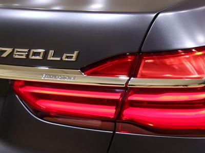 Mondial 2016 : BMW 750d Quadriturbo