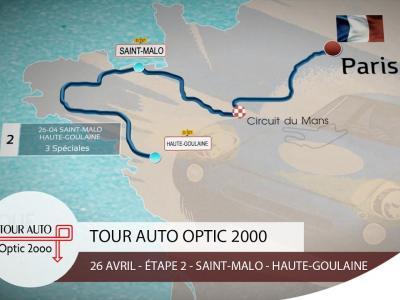 Tour Auto 2017 | Étape 2 : Saint-Malo - Haute-Goulaine