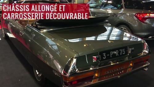 Rétromobile 2018 : Citroën SM Présidentielle