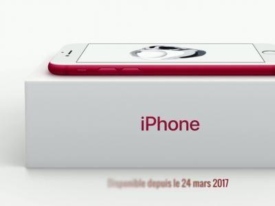 iPhone 7 rouge : tout savoir sur l'édition spéciale (PRODUCT) RED