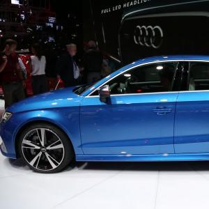 Mondial 2016 : Audi RS3 berline