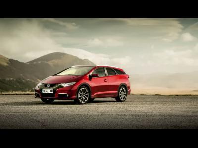 Nouvelle vidéo de la Honda Civic Tourer