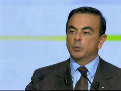 Carlos Ghosn, President and CEO, Renault