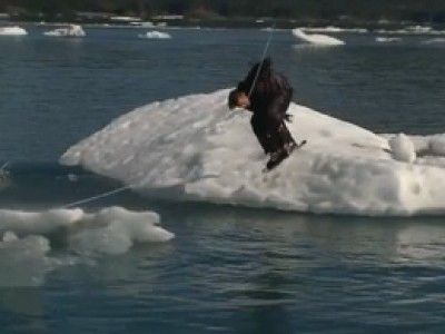 Du Wakeboard en Alaska... c'est possible !