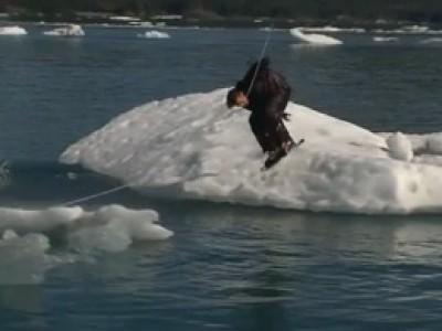Du Wakeboard en Alaska... c'est possible !