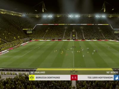 Borussia Dortmund - TSG 1899 Hoffenheim : notre simulation FIFA 20 (Bundesliga - 34e journée)