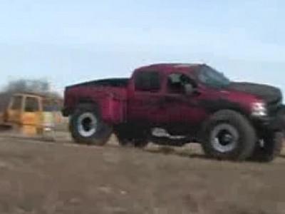Problème de suspension pour ce Monster Truck