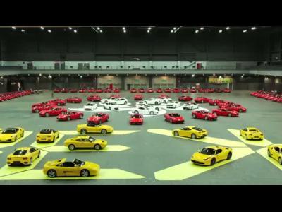 Le rassemblement géant de Ferrari à Hong-Kong en vidéo