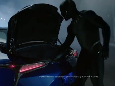 Super Bowl : la pub Lexus avec Black Panther