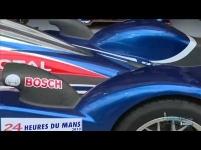 La peugeot 908 par Stéphane Sarrazin