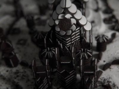 Game of Thrones : le générique de la série HBO avec des biscuits Oreo