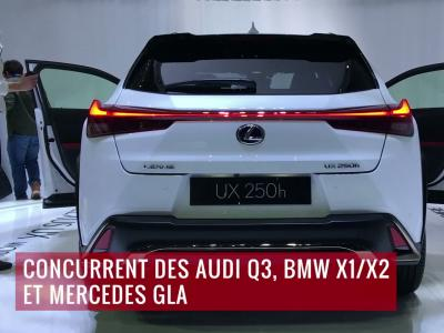 La Lexus UX en vidéo depuis le salon de Genève 2018