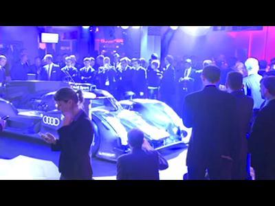 Présentation officielle de l'Audi R18