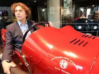 Le designer d'Alfa Romeo nous présente l'exposition Alfa'Mazing Cars