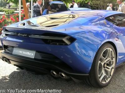 Le concept Lamborghini Asterion a rugi à la Villa d'Este