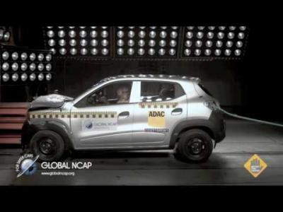 La Renault Kwid se rate aux crash-tests