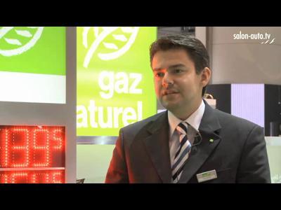 Véhicule au gaz naturel