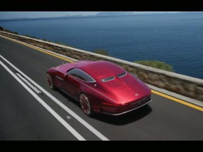 Vision Mercedes-Maybach 6 : l'électrique au service du grand luxe