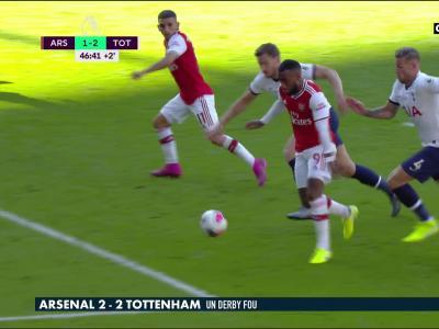 Arsenal - Tottenham : le résumé et les buts