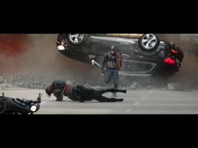 L'Audi SQ7 vole la vedette à Captain America