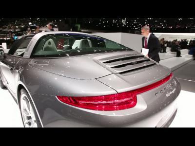 Genève 2014 : Porsche 911 Targa