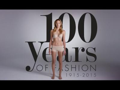 100 ans de mode en 2 Minutes
