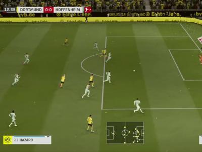 Borussia Dortmund - TSG 1899 Hoffenheim sur FIFA 20 : résumé et buts (Bundesliga - 34e journée)