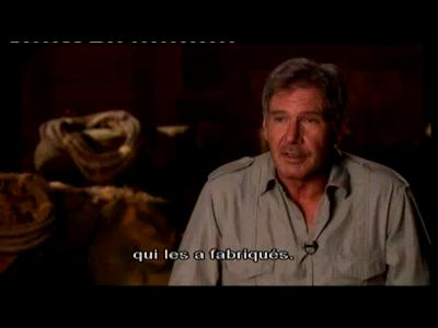 Indiana Jones et le Crane de Crystal Bonus DVD