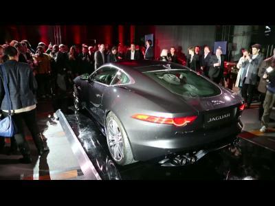 Soirée lancement Jaguar F-Type coupé