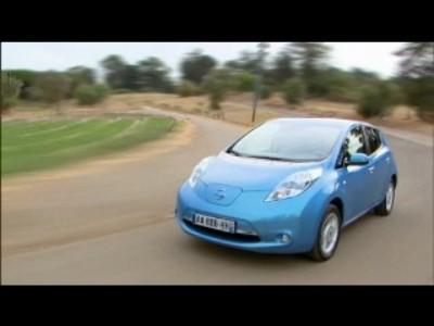 Nissan Leaf à Lisbonne
