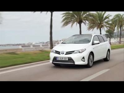 Essai Toyota Auris Touring Sports Hybrid