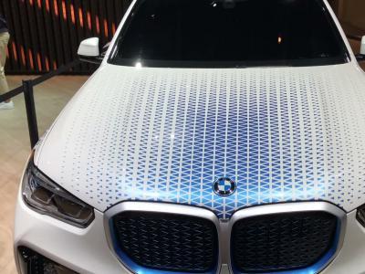 BMW i Hydrogen NEXT : le X5 à l'hydrogène en vidéo au Salon de Francfort
