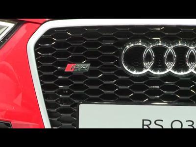 Genève 2013 : Audi RS Q3