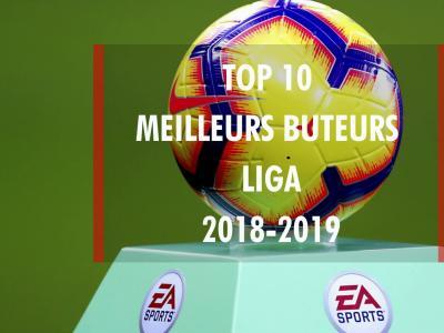 Liga 2018 / 2019 : top 10 des meilleurs buteurs du championnat d'Espagne