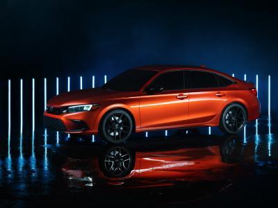 Honda Civic (2022) : le prototype en vidéo