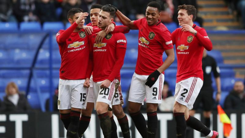 FA Cup : Manchester United et Martial à la fête !